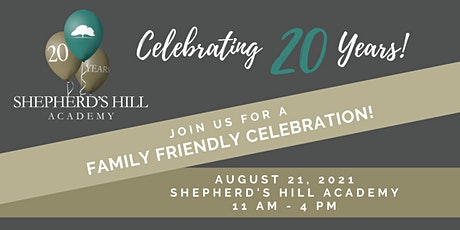 Shepherds Hill Academy 20th Birthday Bash tickets