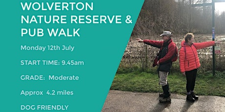 WOLVERTON NATURE RESERVE | 4.2 MILES | MODERATE| NORTHANTS tickets