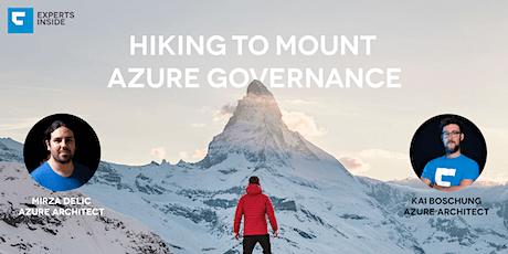 [Webinar] Hiking to Mount Azure Governance - Policies tickets