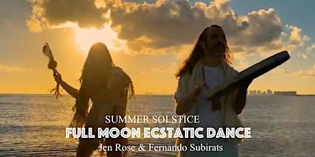 Full Moon Beach Ceremony & Ecstatic Dance tickets