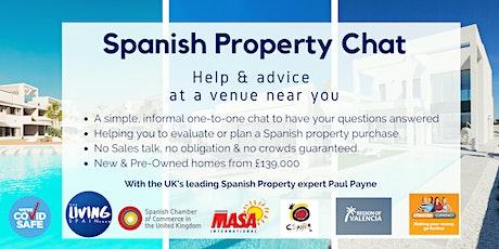 Bristol: Spanish Property Chat tickets