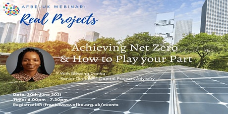 Achieving Net Zero and How to Play your Part? tickets