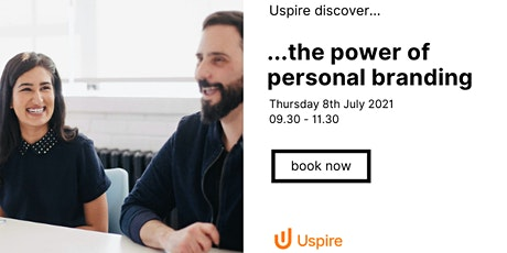 Uspire Discover...the power of personal branding tickets