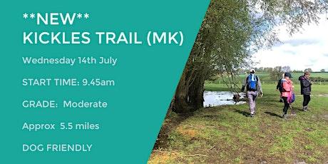 **NEW** KICKLES TRAIL (MILTON KEYNES) | 5.5 MILES | MODERATE| BUCKS tickets