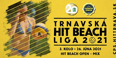 3. kolo THBL2021 – HIT BEACH OPEN – MIX tickets