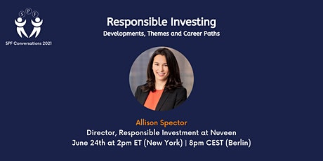 SPF Conversations: Responsible Investing tickets