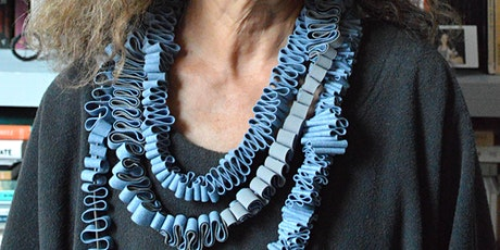 Sculptural Textile Jewellery Workshop (Online) tickets