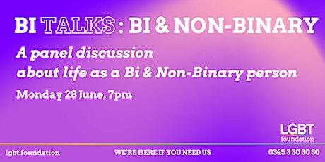 Bi Talks: Bi & Non-Binary tickets