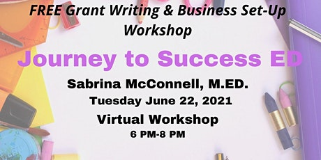 Free Virtual Business Set-Up & Grant Writing Workshop tickets