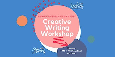 Creative Writing Workshop! tickets