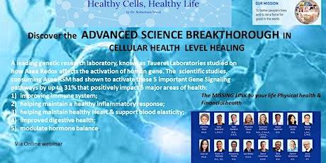 Discover the ADVANCED Science Healing boletos