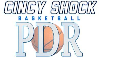 Cincy Shock PDR Basketball Clinic tickets