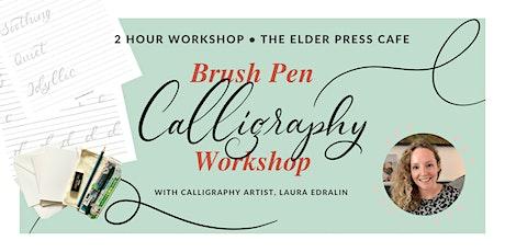 Brush Pen Calligraphy Workshop tickets
