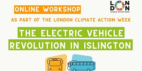 The electric vehicle revolution in Islington tickets