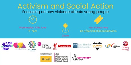 Activism and Social Action: an #iwill Fund and TNLCF event tickets