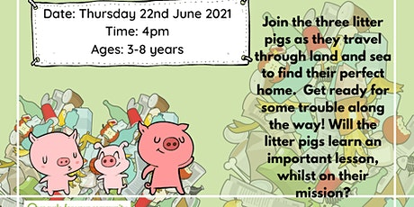 Storytime The Three Litter Pigs tickets