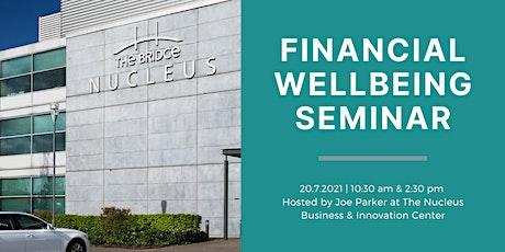 Financial Wellbeing Seminar - Afternoon tickets