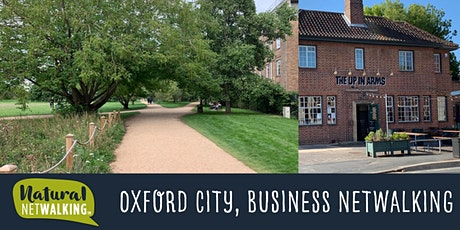 Natural Netwalking in Oxford City. Thursday 12th August, 12:15pm - 1:45pm tickets