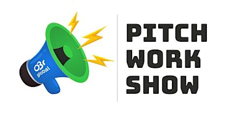 """Pitch WorkShow Bootcamp - Preparando um Pitch """"Matador"""" bilhetes"""