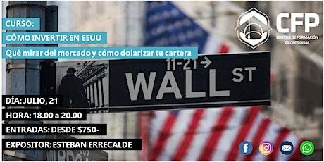 """""""Cómo invertir en EEUU"""" entradas"""