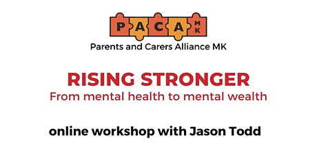 Rising Stronger - From mental health to mental wealth tickets