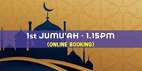 1st Jumu'ah Prayer|1.15 PM|18th June 2021|English|Sheikh Saifullah Nasser tickets