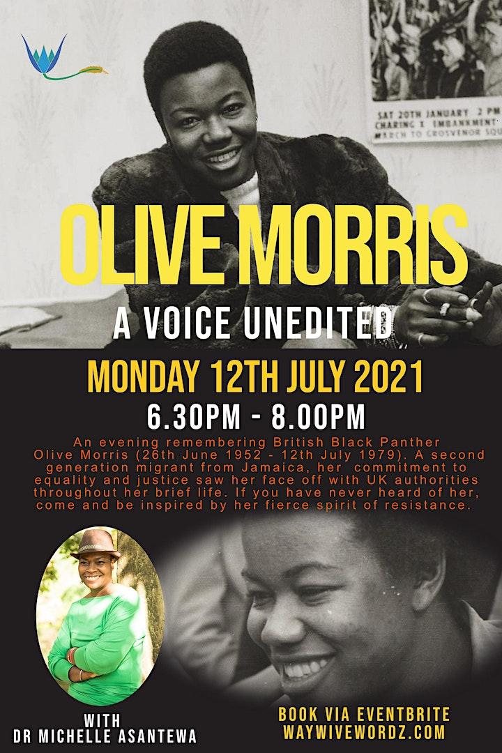 Olive Morris: A voice Unedited image
