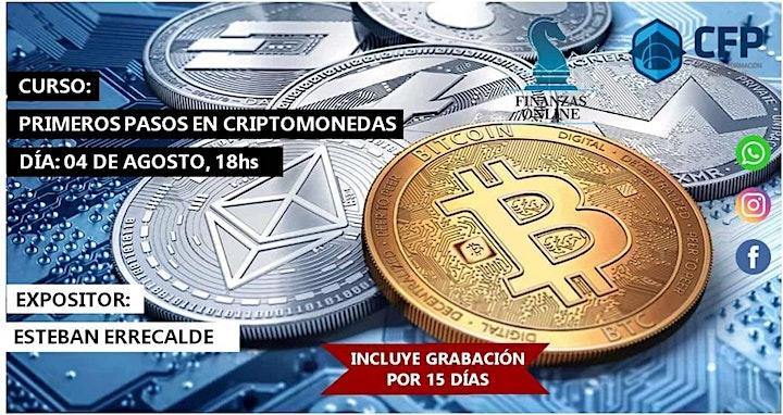 "Imagen de ""Primeros pasos en Cryptomonedas"" Taller Práctico"