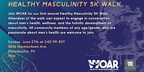 Healthy Masculinity 5K Walk tickets