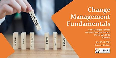 ASPIRE Change Management Fundamentals tickets