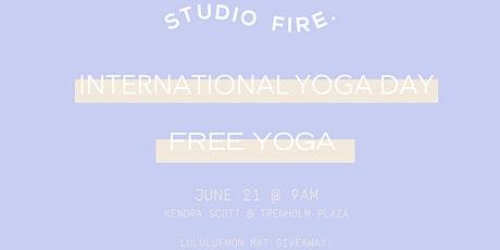 International Yoga Day with Kendra Scott tickets