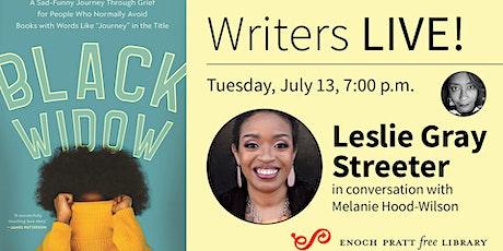 Writers LIVE! Leslie Gray Streeter, Black Widow tickets
