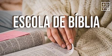 Escola de Bíblia ingressos