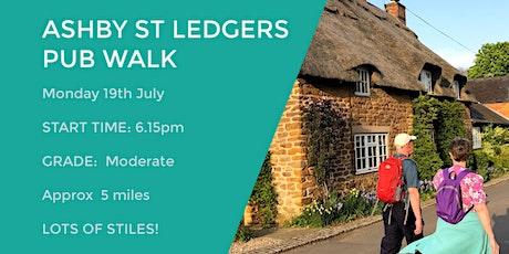 ASHBY ST LEDGERS PUB WALK | 5 MILES | MODERATE | NORTHANTS tickets