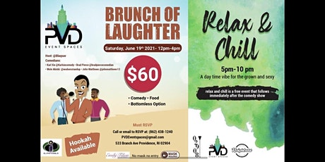 BRUNCH OF LAUGHTER tickets