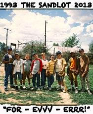 """""""The Sandlot"""" (1993) / Drive-In Movie tickets"""