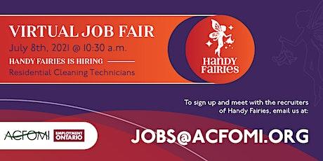Virtual Job Fair - Handy Fairies - Foire d'emploi virtuelle billets