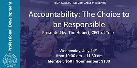 Accountability: The Choice to be Responsible tickets