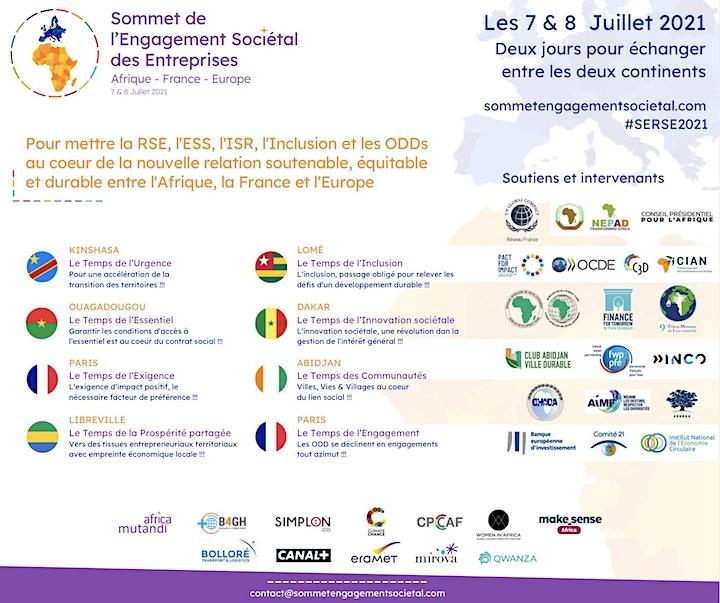 Image pour Sommet de l'Engagement Sociétal des Entreprises - english below