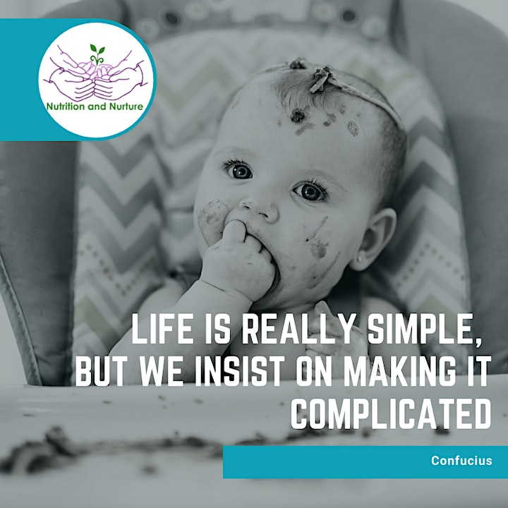 Introducing Solids to your Baby - Live face to face workshop image