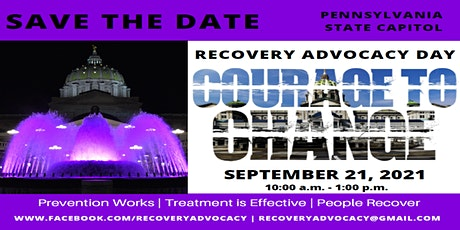Courage to Change Recovery Advocacy Day tickets