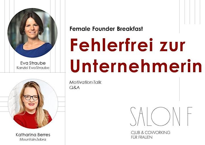 SALON F // Female Founders Frühstück auf dem Balkon: Bild