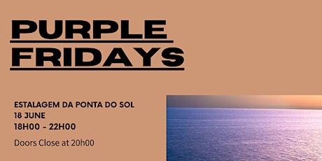 Ocean Week Sunset Social - Purple Fridays tickets