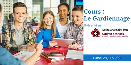 Cours : Le Gardiennage - Babysitting Course tickets