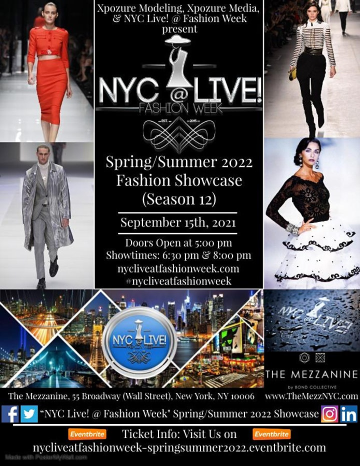 """NYC Live! @ Fashion Week"" Spring/Summer 2022 Fashion Showcase (Season 12) image"