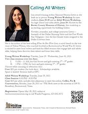 Writers Workshop - High School & Adults tickets