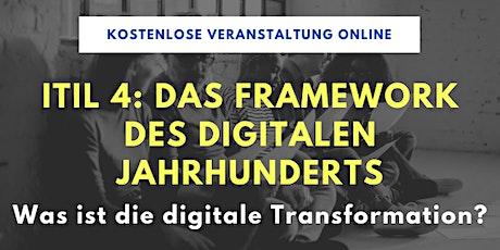 ITIL 4: das Framework des digitalen Jahrhunderts Tickets