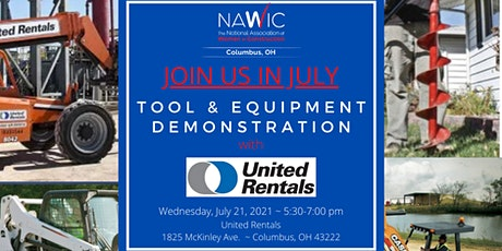 July 2021 - Tools & Equipment Demonstration with United Rentals tickets