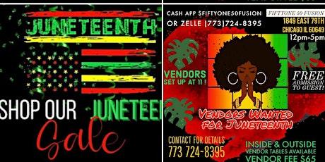 JUNETEETH POP UP SHOP tickets