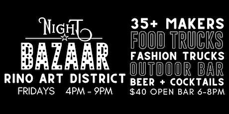 Friday Night BAZAAR: Shop & Sip tickets
